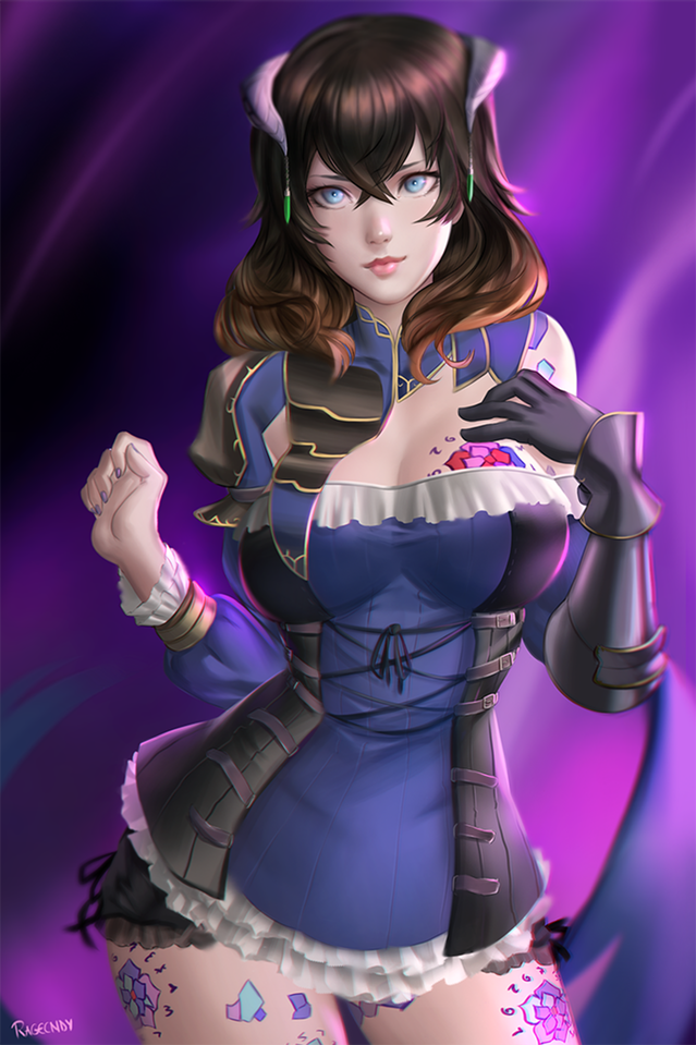 Bloodstained Miriam Fan art ragecndy.