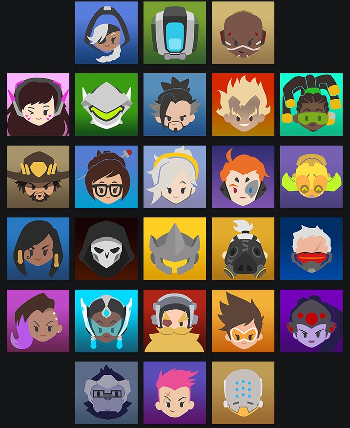 Overwatch iconos