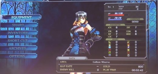 Bloodstained Miriam Stats sxsw