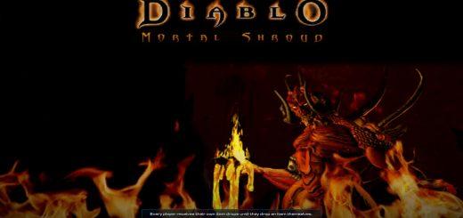 Diablo Mortal Shroud Portada