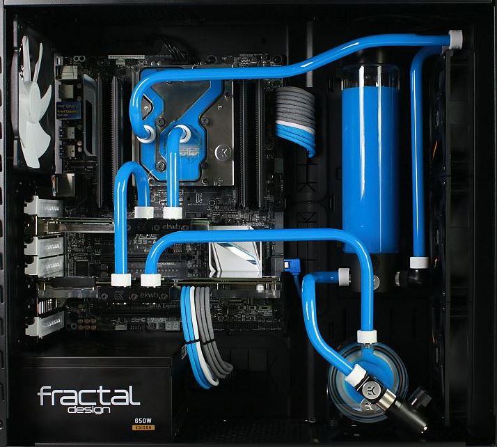 Enfriamiento liquido customizado
