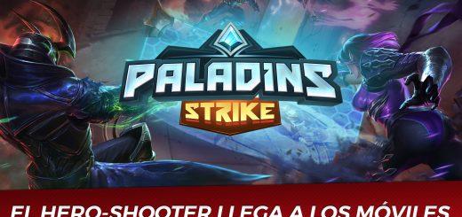 Paladins Strike Portada