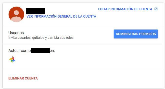 Youtube Administrar