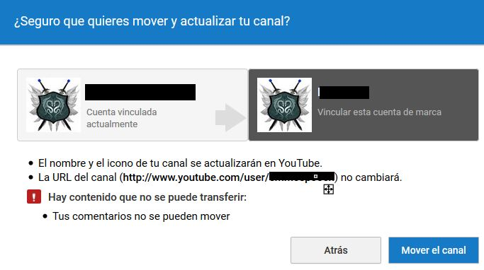 Youtube advertencia