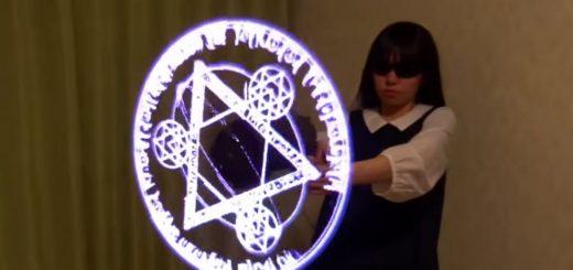 holograma ataque mágico