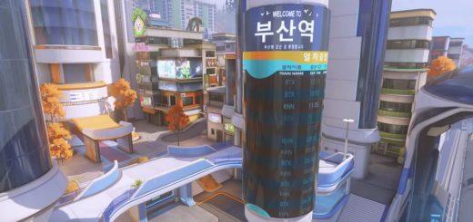 Busan mapa Overwatch