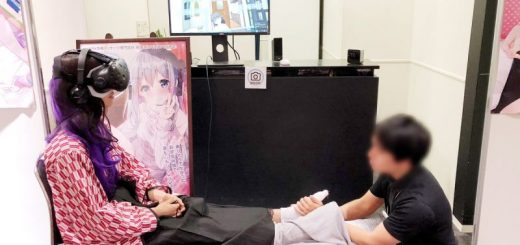 Chicas de anime masajes VR