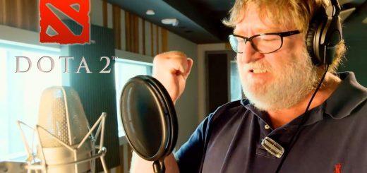 Dota 2 Gabe Newell