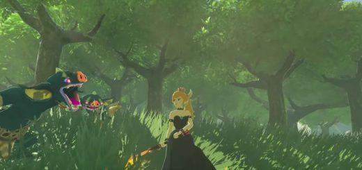 Bowsette Zelda Breath of the wild