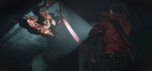Resident evil 2 Remake Licker