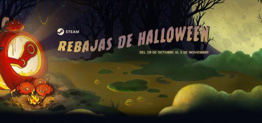 Steam rebajas de Halloween
