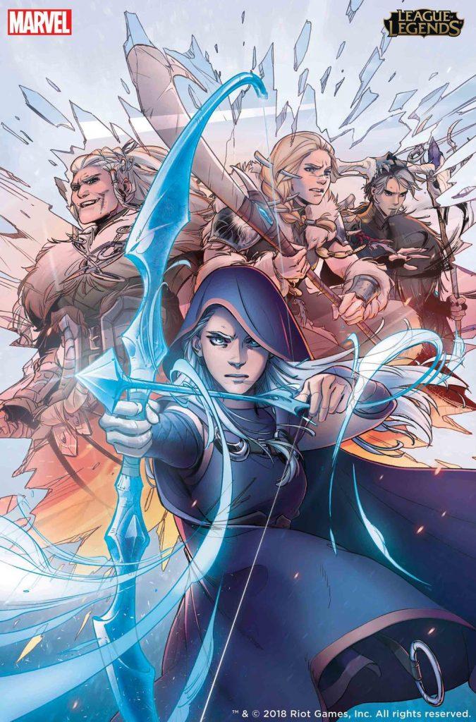 League of legends comic Marvel
