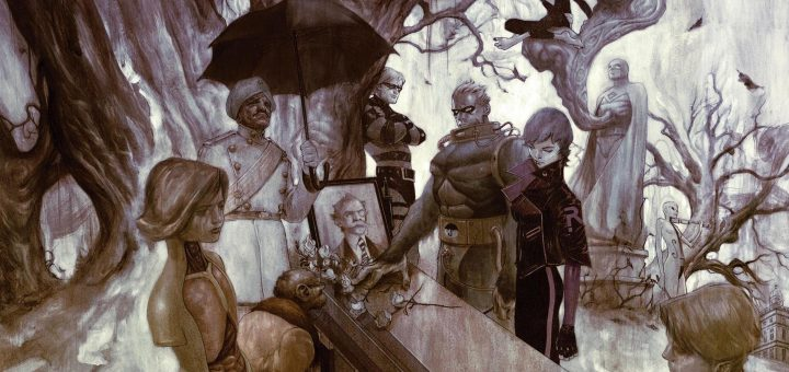 The Umbrella Academy cómic