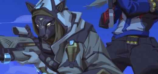 Overwatch Bastet - Ana y Soldado 76