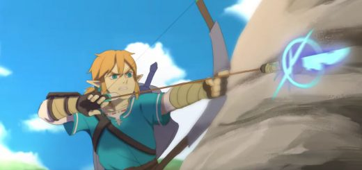 The Legend of Zelda Breath of the Wild animación