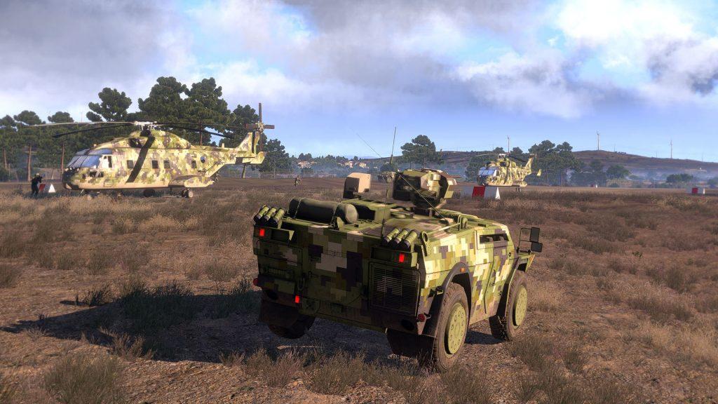 Arma 3 vehículos