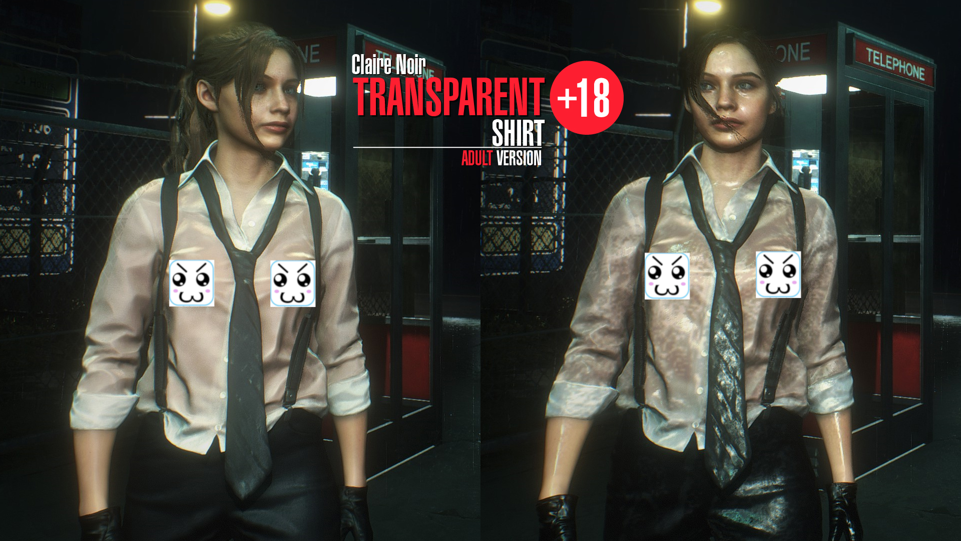 Nude Mods para Resident Evil 2 Remake (NSFW)