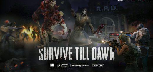 Survive Till Dawn PUBG MOBILE X Resident Evil 2