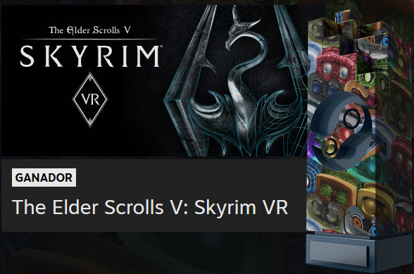 Skyrim - Steam Awards 2018