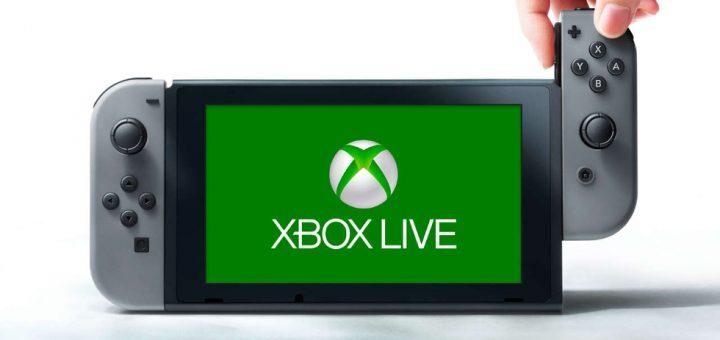 Xbox Live en Nintendo Switch