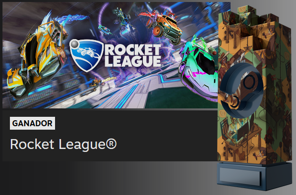 Rocket League - Steam Awards 2018