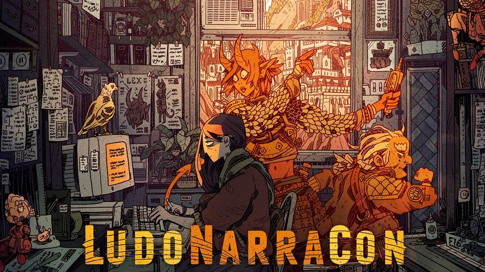 LudoNarraCon convención de videojuegos totalmente virtual