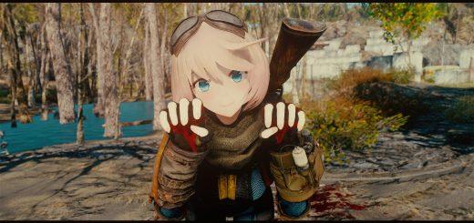 AnimeRace Nanakochan - Mod para Fallout 4