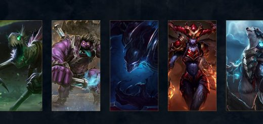League of Legens rediseño de campeones