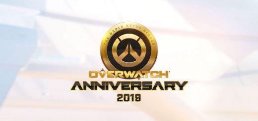 Overwatch tercer aniversario - 2019