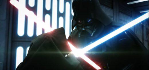 Star Wars Obi-Wan Kenobi vs Darth Vader hecho por fans