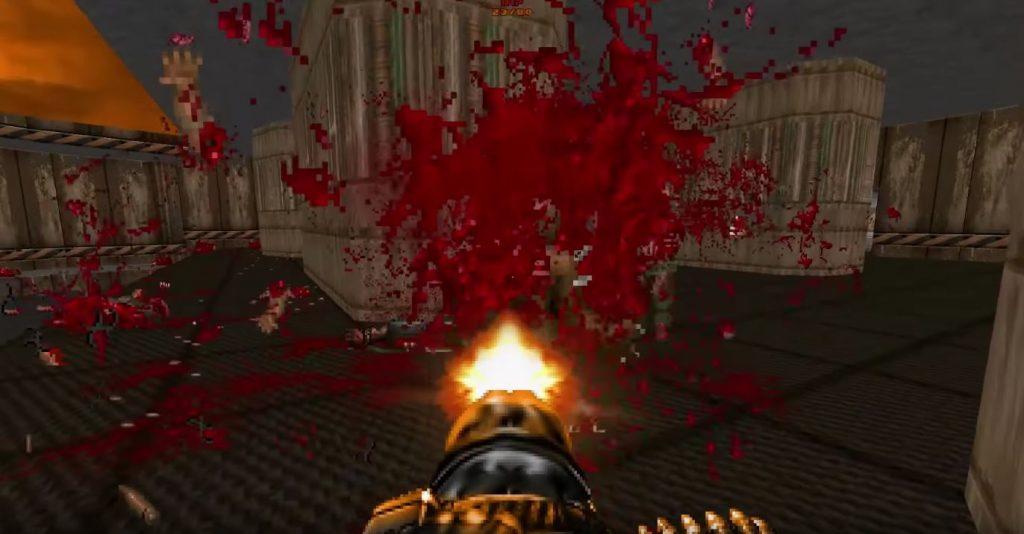 Brutal Doom - Gameplay