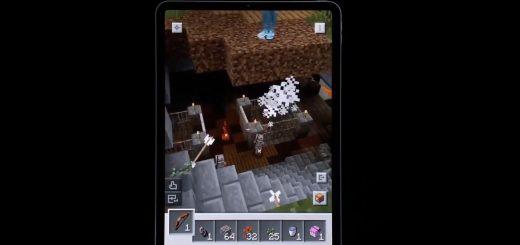 Minecraft Earth demo