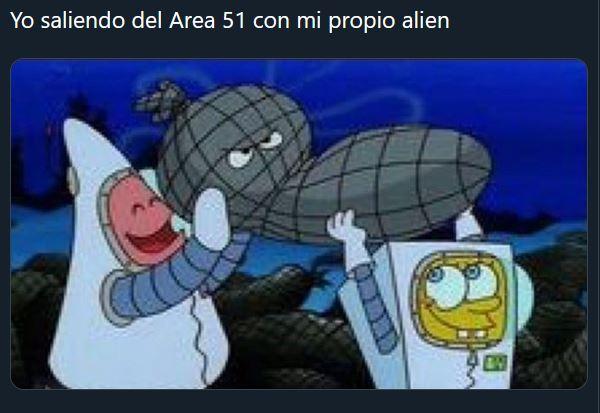 Área 51 meme - 1