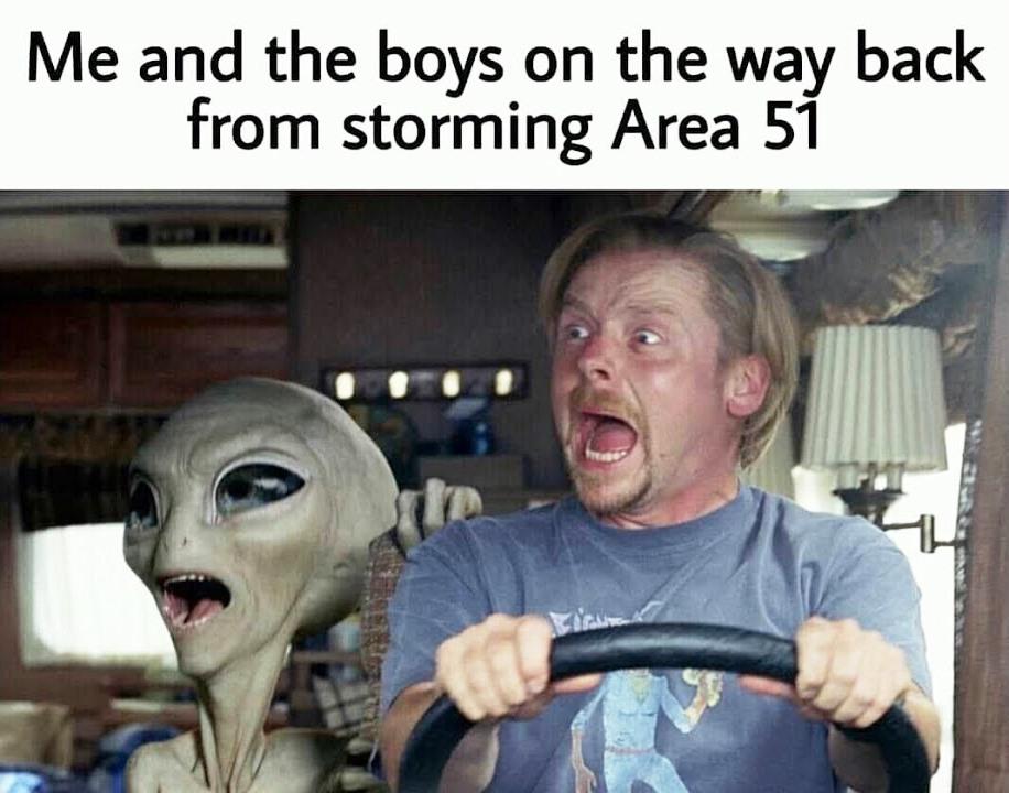 Area 51 meme - 5