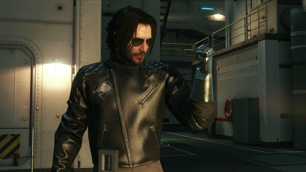 Keanu Reeves - Metal Gear Solid V
