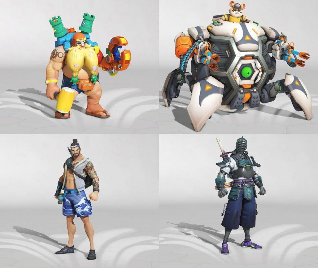 Overwatch juegos de verano 2019 - skins