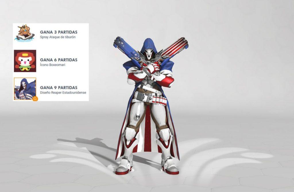 Reaper Estadounidense - Overwatch