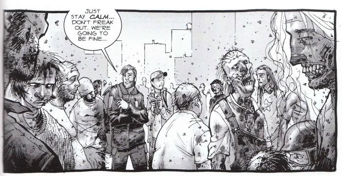 The Walking Dead Reseña del cómic