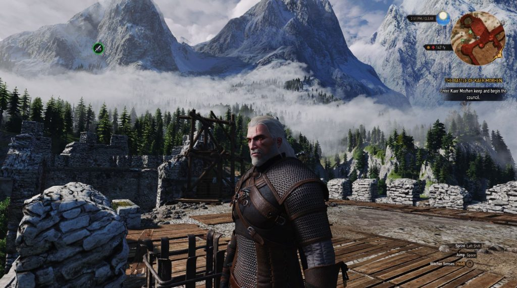 The Witcher 3 mod texturas - 2