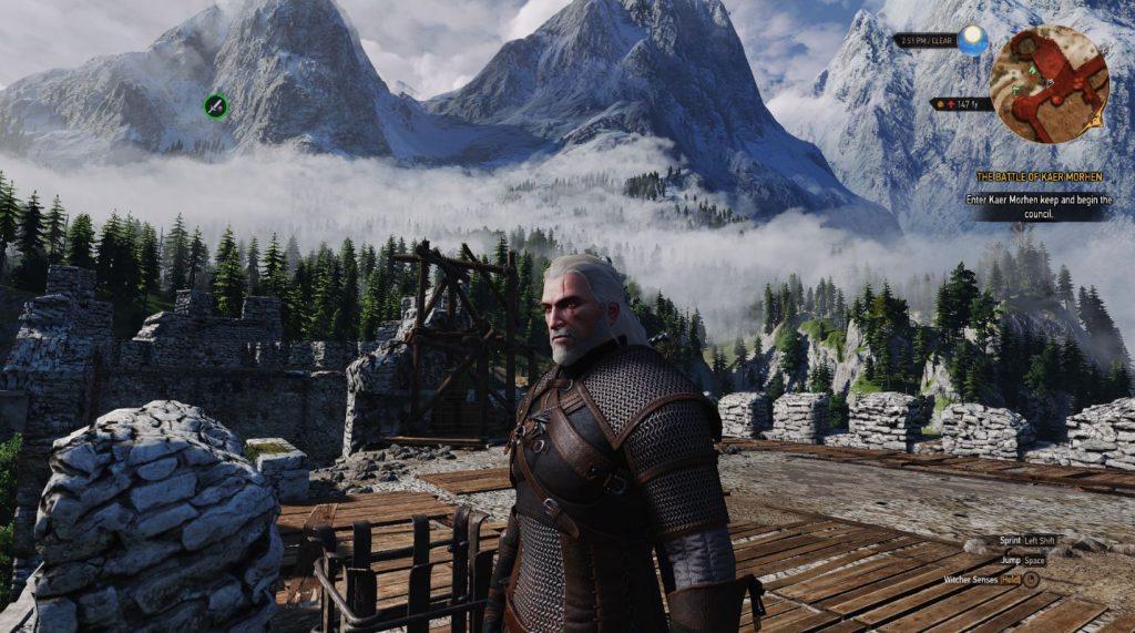 The Witcher 3 mod texturas - 2